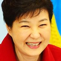 박근혜 웃는 표정