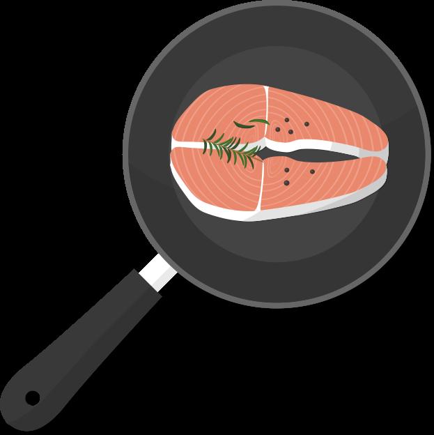 프라이팬 고기