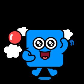 파란 미세먼지 아이콘